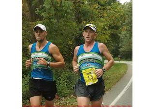 Aaron Rood gets some pacing help from Jim