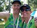Jen & Murph post race