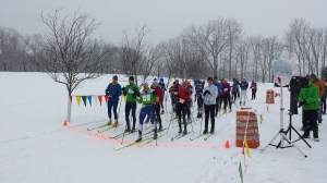 The relaxed 5k Classic style race start